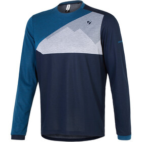 Ziener Egme Bike Jersey Longsleeve Men blue